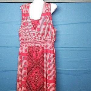 Cato ladies long plus size dress
